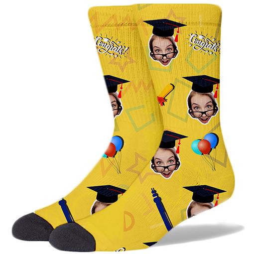 Graduation Product Socks GOLD