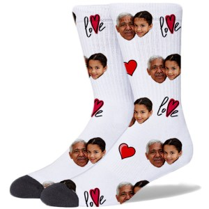 Grandparents Product Socks WHITE