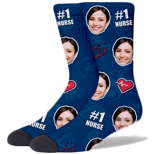 Nurse Product Socks DARK BLUE