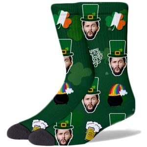 St. Patrick's Day Product Socks GREEN