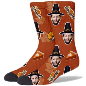 Thanksgiving Product Socks PUMPKIN