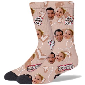 Wedding Product Socks TAN