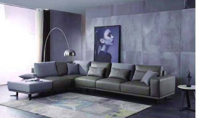 8213(1)-high quality modern leather sofa made by china luxury and modern furniture factory and company-furbyme