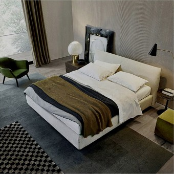 high quality fabric bed made by china luxury and modern furniture factory and company-furbyme
