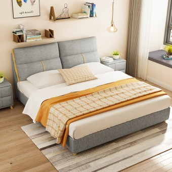 a531-high quality fabric bed made by china luxury and modern furniture factory and company-furbyme