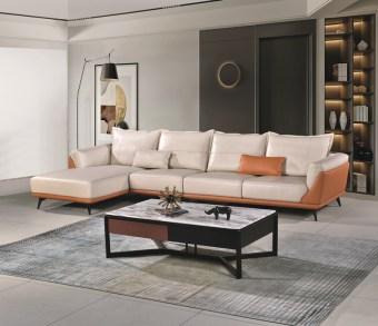jxf3168 China Modern High end Design Luxury Living Room Furniture Leather Sofa