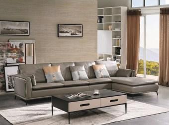 jxf3258 China Modern High end Design Luxury Living Room Furniture Leather Sofa