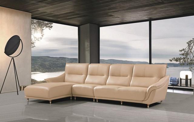 jxf3268 China Modern High end Design Luxury Living Room Furniture Leather Sofa