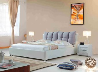 A8823-high quality upholstered fabric bed made by china luxury and modern furniture factory and company-furbyme