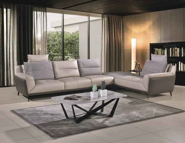 JX3118China Modern High end Luxury Living Room Furniture Leather Sofa