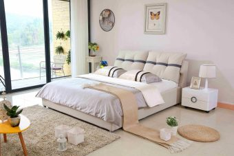 a508-high quality fabric bed made by china luxury and modern furniture factory and company-furbyme