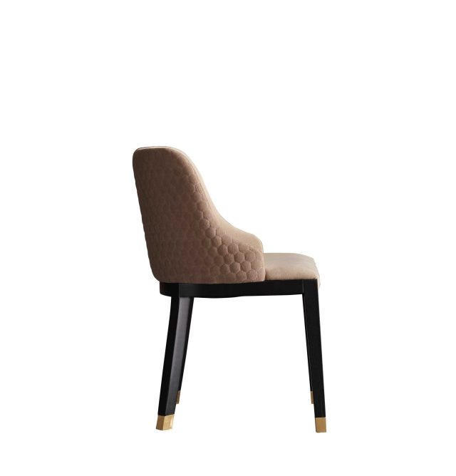 dkf10-china contemporary home furniture kitchen fabric dining chair company supplier