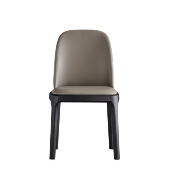 dkf25-china modern design home kitchen leather dining chair supplier manufacturer-furbyme (1)