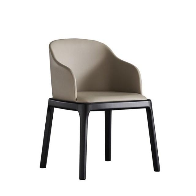 dkf26-china modern design home kitchen leather dining chair supplier manufacturer-furbyme (1)