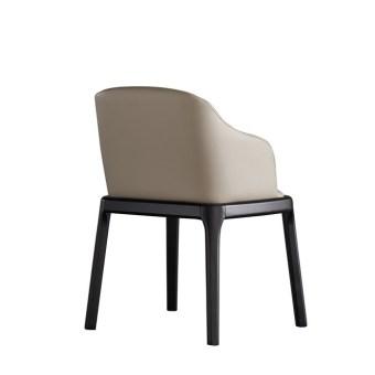 dkf26-china modern design home kitchen leather dining chair supplier manufacturer-furbyme (4)
