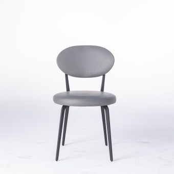 dkf29-china modern design home kitchen metal leather dining chair supplier manufacturer-furbyme (1)