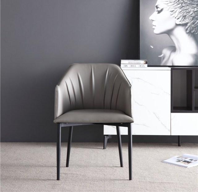 dkf78-china modern design home kitchen metal leather dining chair supplier manufacturer-furbyme (3)