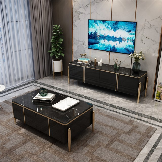 1969-china luxury home furniture storable metal wood coffee table tv cabinet manufacturer supplier-furbyme (6)