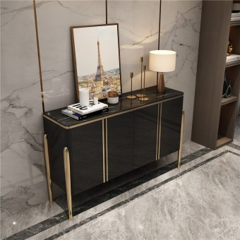 1969-china luxury home furniture storable metal wood side drawer table manufacturer supplier-furbyme (4)