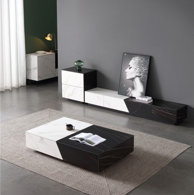 202china modern luxury home furniture wood sintered stone coffee ta (1)