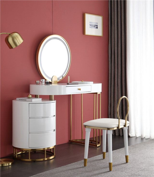 261china luxury home furniture storable metal dressing table stool manufacturer supplier-furbyme (4)
