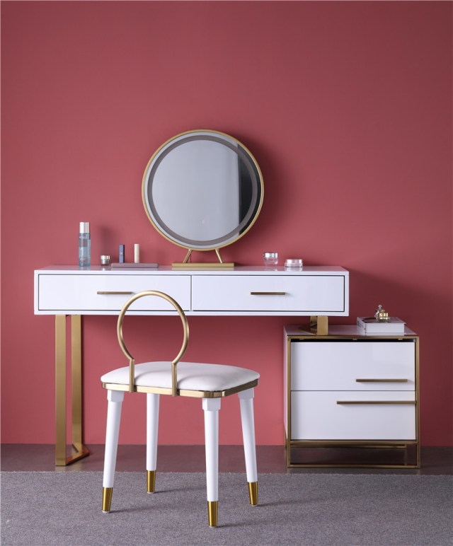 262china luxury home furniture storable metal dressing table stool manufacturer supplier-furbyme (4)