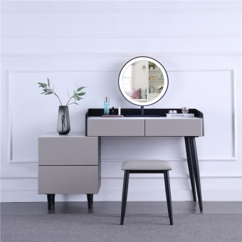 265china luxury home furniture storable metal dressing table stool manufacturer supplier-furbyme (1)