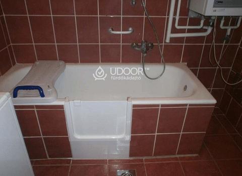Fürdőkád Belépős Falazattal