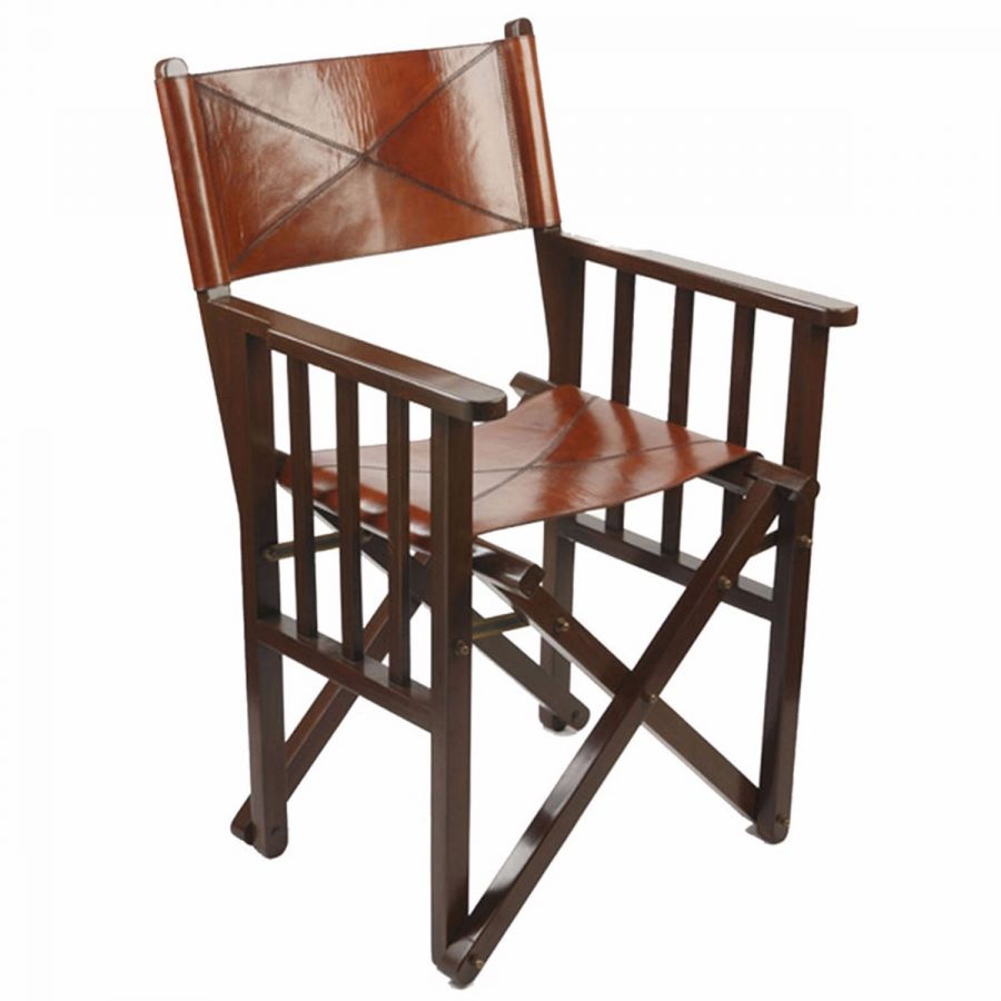 Folding Director Chair Leather Director S Chair