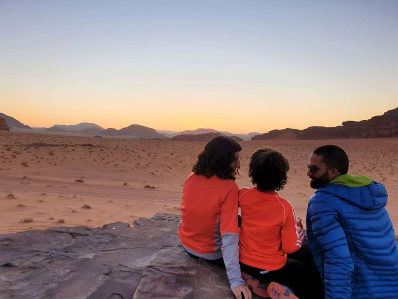 jordania en familia - wadi rum