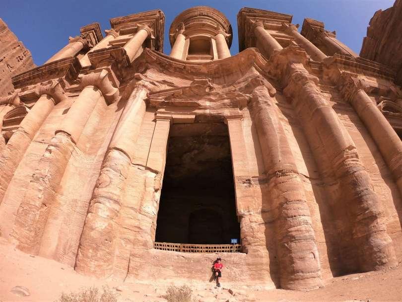 Jordania en familia - monasterio