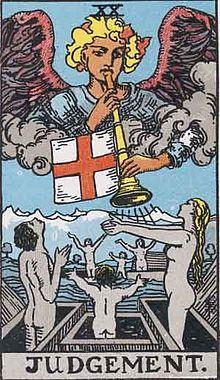審判のタロットカード