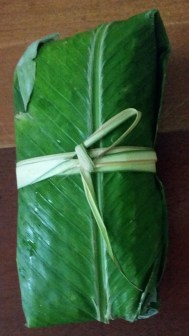 Waha leaf packaging