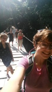 rope bridge selfie!