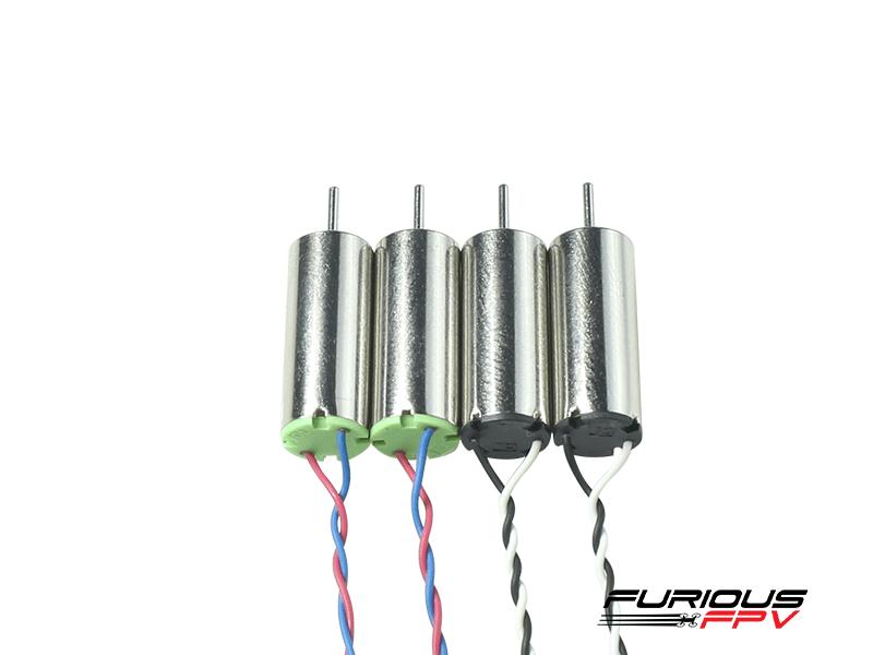 Furious FPV Supersonic 6x15mm 19000KV brushed motors (2CW