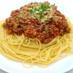 洋食屋さんの味『ミートソースのスパゲッティ』のレシピと作り方
