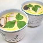 殻付き銀杏を美味しくいただく『銀杏の茶碗蒸し』のレシピと作り方