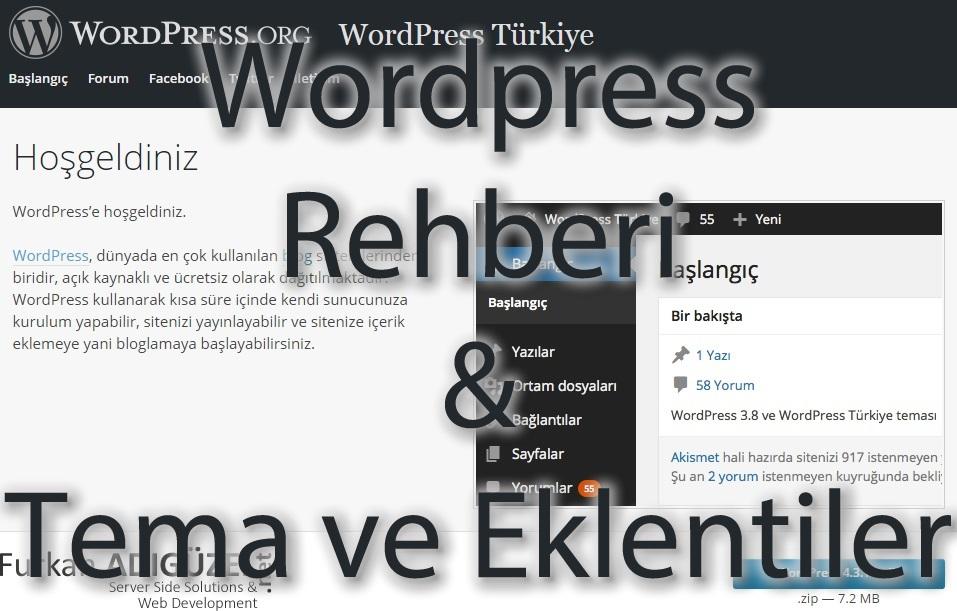 wordpress-rehberi-tema-ve-eklentiler