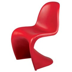 Panton Chair Review Activity Desk And Set Verner Dining S Seat Design Red
