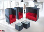 Stoliki recepcyjne Oto o idealnej, prostej formie