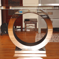 Living Room Console Tables Mirrored Rugs Sale Art Deco Circle