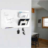 3 In 1 Magnetic Memo Board, Letter Rack And Key Holder