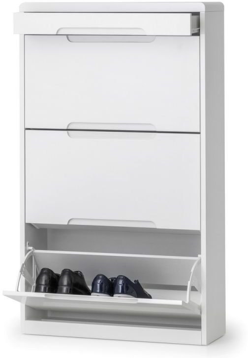 brooklyn shoe cabinet with drawer