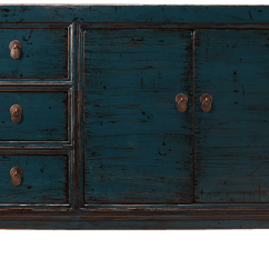 Kitchen Cabinet Doors For Sale With Trash Bin Teal Lacquer Sideboard Three Drawers | Sideboards ...