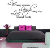 Live Laugh Love Wall Sticker - Large by The Vinyl Biz ...