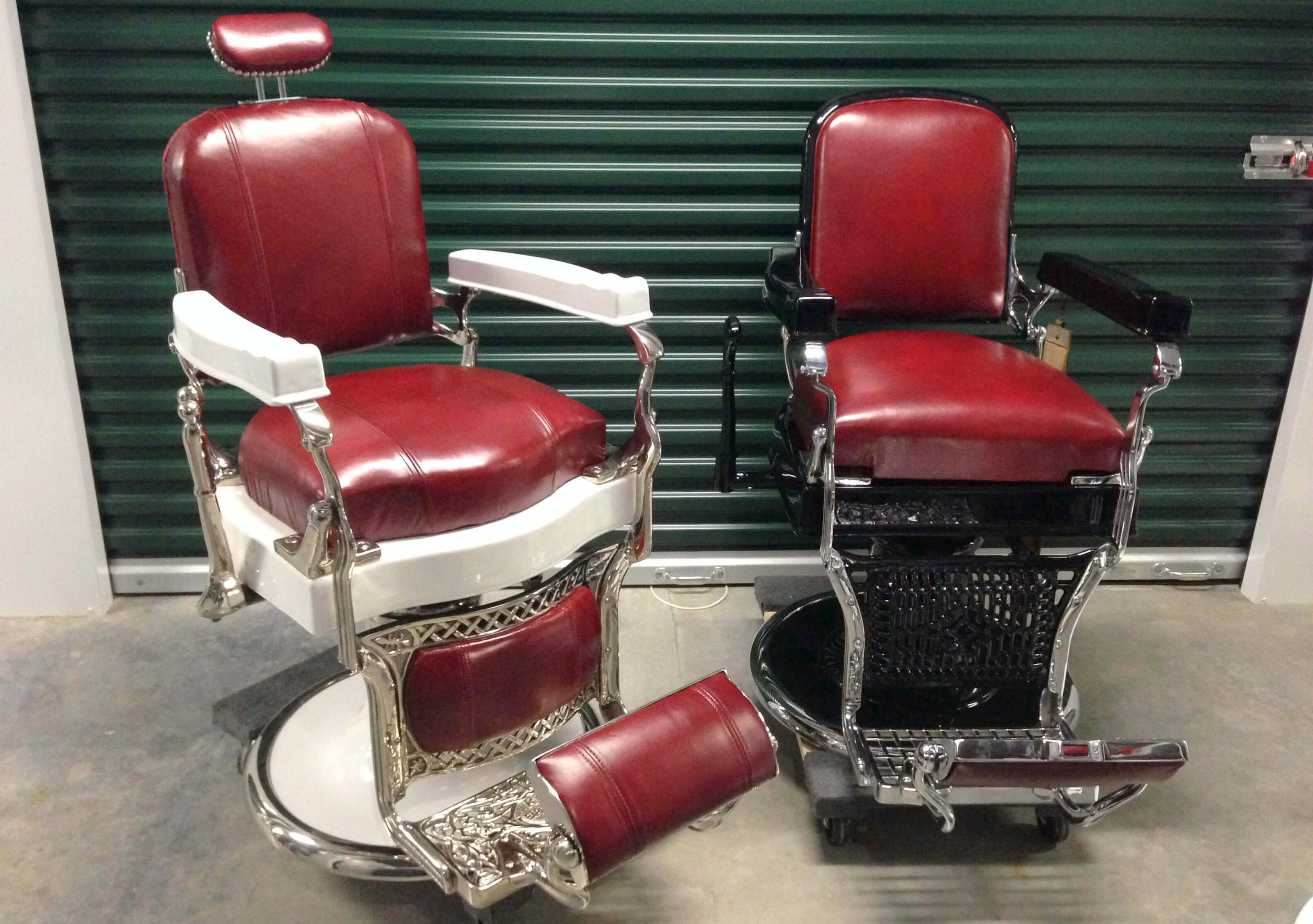 Barber Chairs Antique Barbers Chairs Styles Brands And Repros