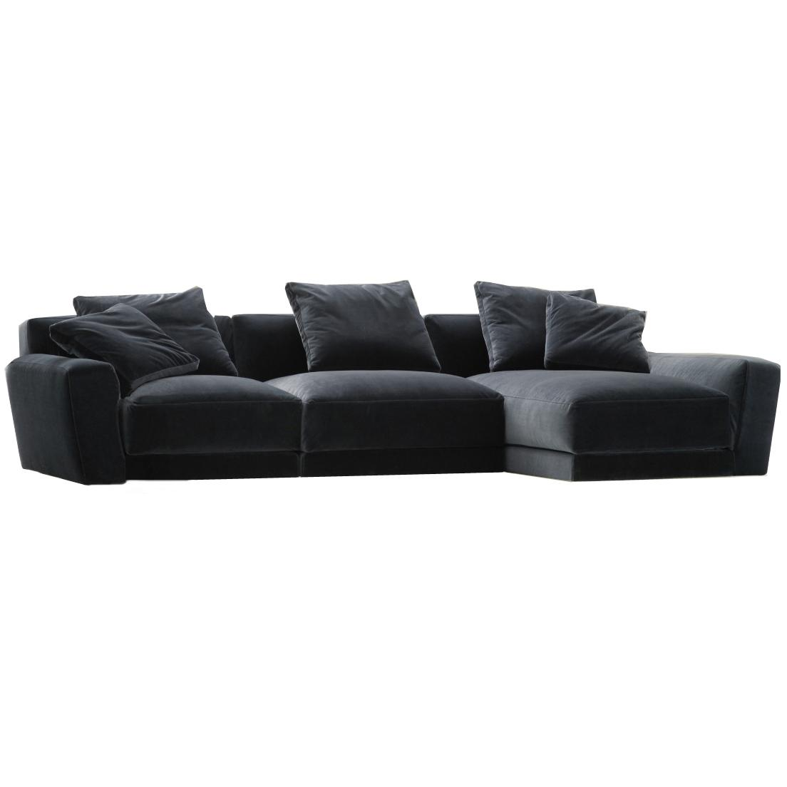 velvet sectional sofa italian leather specialists preston furnished souls