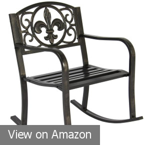 Metal Porch Rocking Chair