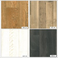 Wood Plank Non Slip Lino Home Office Kitchen Bedroom High