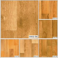 Wood Effect Anti Slip Lino Office Home Kitchen Bedroom